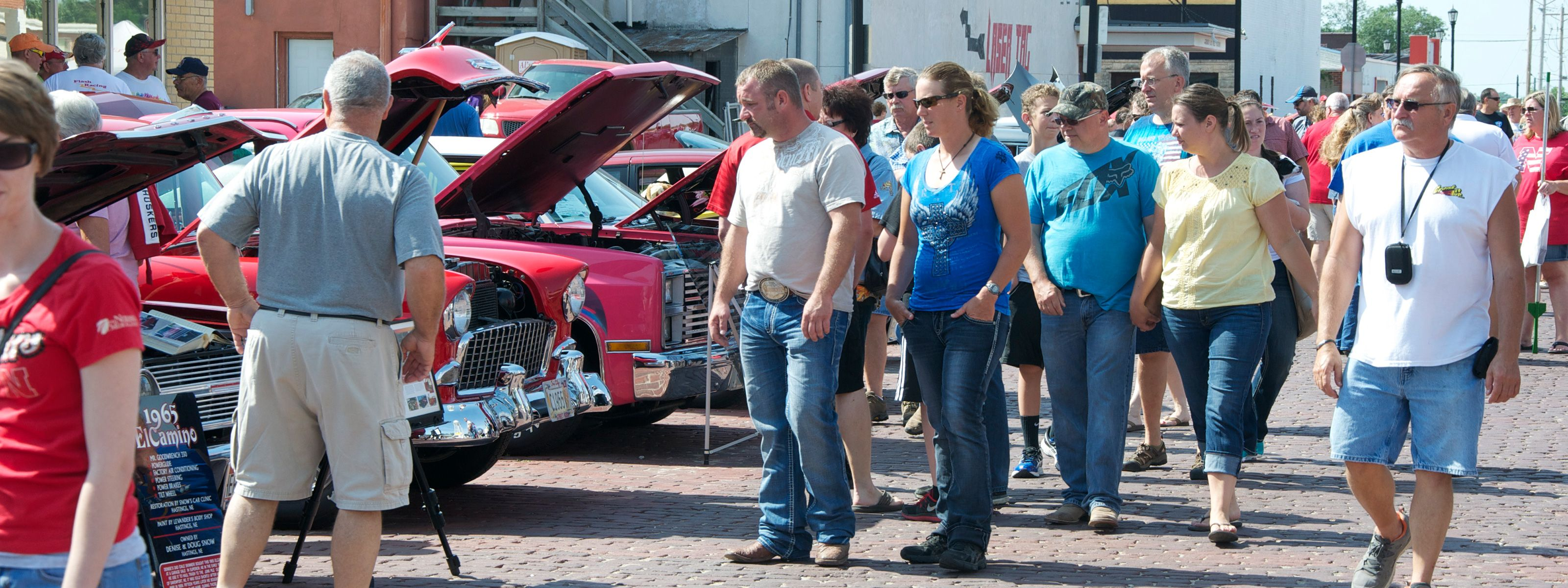 July 4th Car Show in Seward, Nebraska