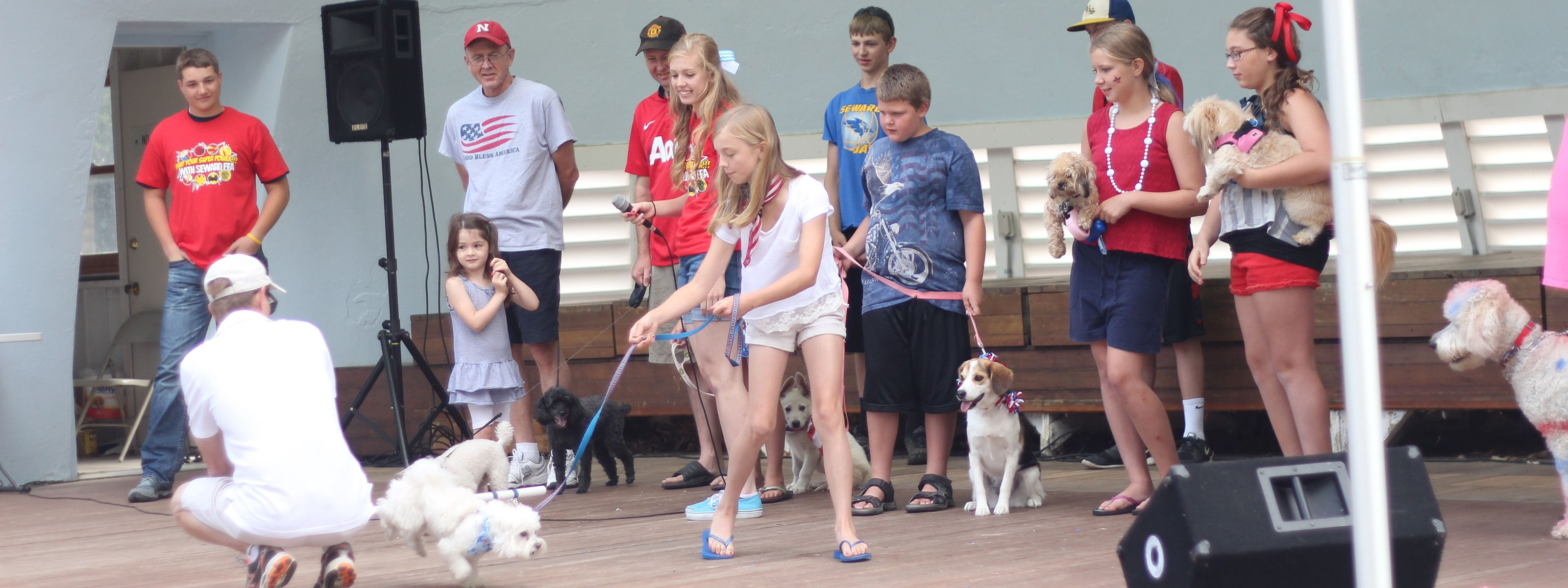 July 4th Pet Parade in Seward, Nebraska