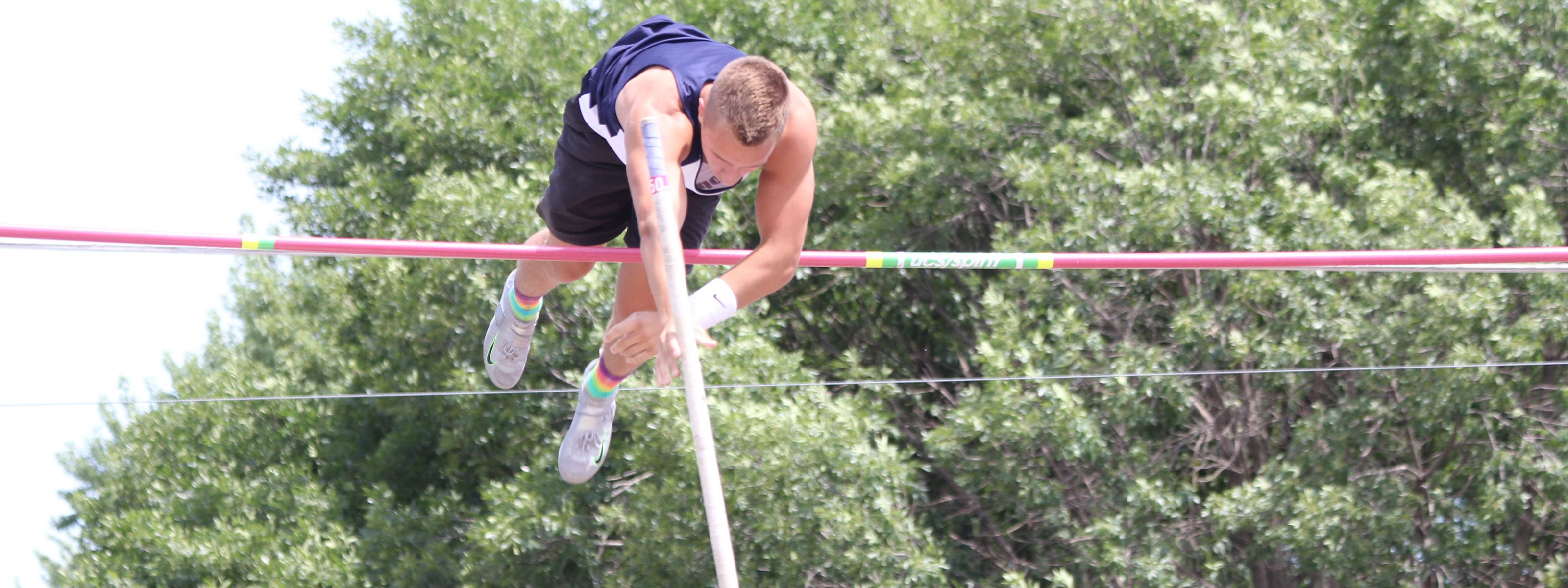 July 4th Pole Vault Competition in Seward, Nebraska