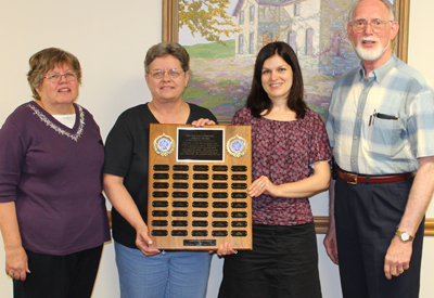 Louise Warnsholz - 2013 Seward County Community Service Award Winner