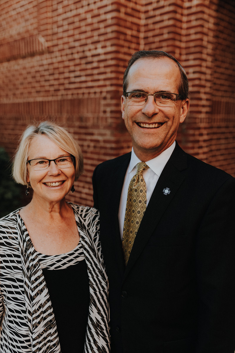 Dr. Laurie Friedrich and Dr. Brian Friedrich